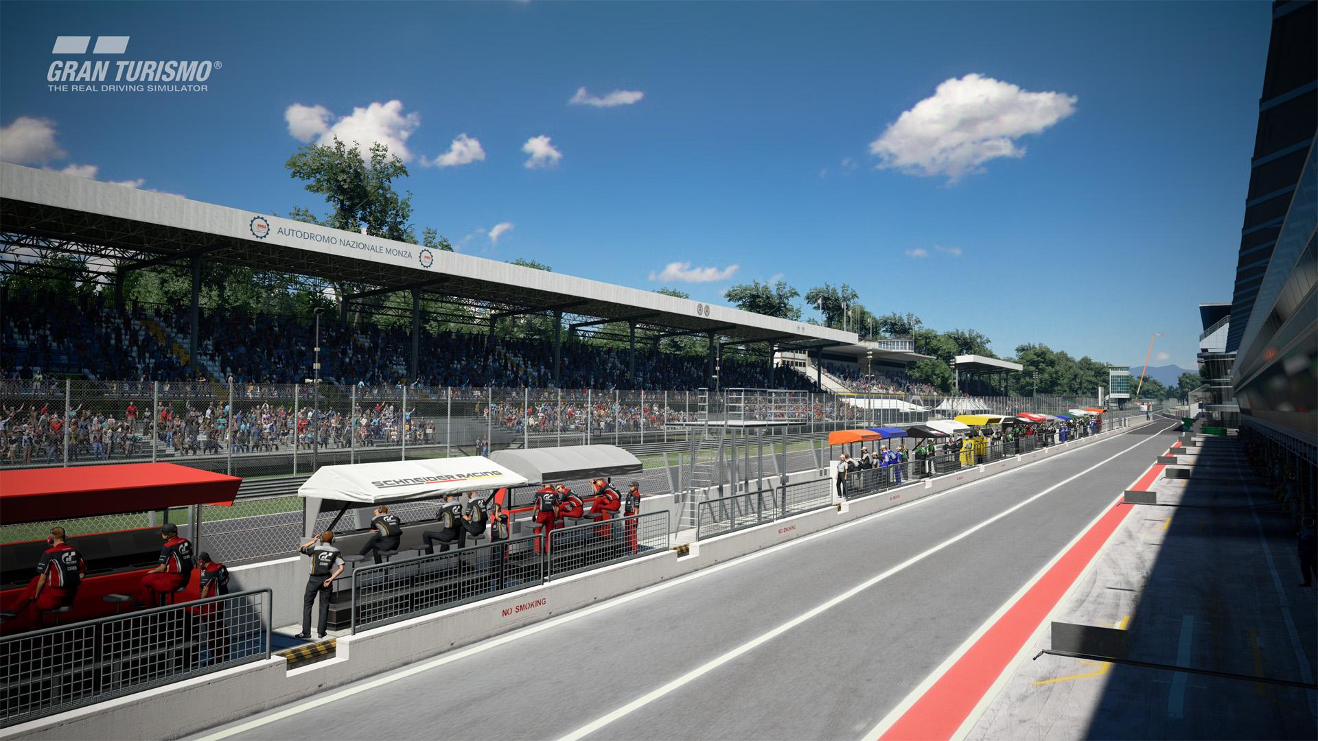 Circuito Monza : Autodromo nazionale di monza tribuna parabolica interna