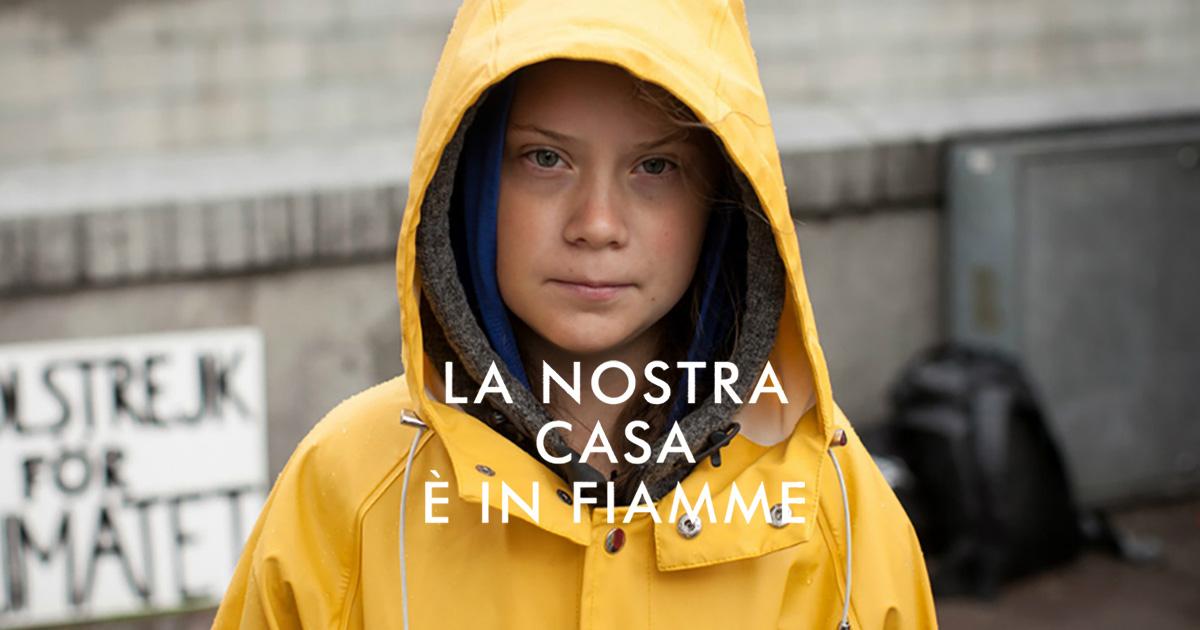 "La nostra casa è in fiamme"" di Greta Thunberg (Mondadori) - Discoradio"
