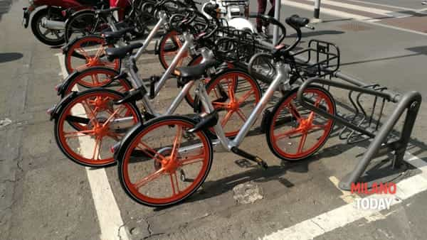 Mobike e ofo parte il bike sharing a flusso libero a for Mobile milano bike sharing